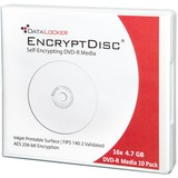 DataLocker EncryptDisc DLDVD10 DVD Recordable Media - DVD-R - 4.70 GB - 10 Pack