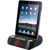 Hip Street Desktop Clock Radio - Stereo - Apple Dock Interface - Proprietary Interface HS-IPCR800