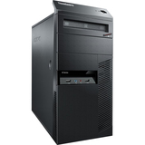 Lenovo ThinkCentre M77 1995A9U Desktop Computer - AMD Phenom II X2 B53 2.8GHz - Tower - Business Black 1995A9U