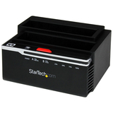StarTech.com Hard Disk Drive Duplicator Dock - SuperSpeed USB 3.0 to SATA HDD Duplicator SATDOCK22RU3