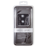Link Depot Stereo Handsfree Earphones - for iPhones LD-HDS-BLK