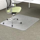 Deflect-o EnvironMat Low Pile Rectangular Chair Mat CM1K142PET