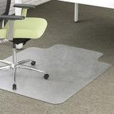 Deflect-o EnvironMat Low Pile Chair Mat with Lip CM1K232PET