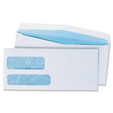 Quality Park Double Window Security Envelope 24520