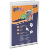 QuickFit Deluxe 4911 Heavy-gauge Grained Clipboard 491100