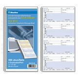 Blueline Telephone Message Book D50751B