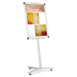 Quartet Improve Pedestal Sign Holder 09105