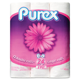 Purex Double Roll Bathroom Tissue 102510