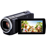 "JVC Everio GZ-E10 Digital Camcorder - 2.7"" LCD - CMOS - Full HD - Black"
