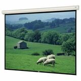 "Da-Lite Large Cosmopolitan Electrol Electric Projection Screen - 222"" - 16:10 - Wall Mount, Ceiling Mount 70283"