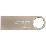 Kingston 16GB DataTraveler SE9 USB 2.0 Flash Drive - Champagne DTSE9H/16GBZ