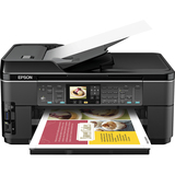 Epson WorkForce WF-7510 Inkjet Multifunction Printer - Color - Plain P - C11CA96201