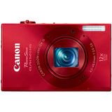 Canon PowerShot 520 HS 10.1 Megapixel Compact Camera - Red - 6171B001
