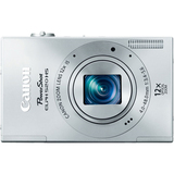 Canon PowerShot 520 HS 10.1 Megapixel Compact Camera - Silver