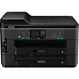 Epson WorkForce WF-7520 Inkjet Multifunction Printer - Color - Plain Paper Print - Desktop C11CB58201