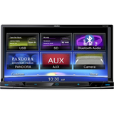 Clarion Automobile Audio/Video GPS Navigation System - NX702