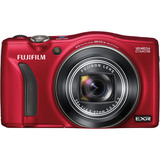 Fujifilm FinePix F750EXR 16 Megapixel Compact Camera - Red 16228252