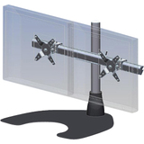 Ergotech 100-D16-B02-HD Dual Horizontal Heavy Duty LCD Desk Stand 100-D16-B02-HD