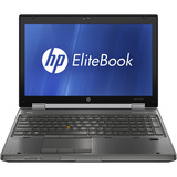 "HP EliteBook 8560w B2A78UT 15.6"" LED Notebook - Intel - Core i7 i7-2640M 2.8GHz - Gunmetal"