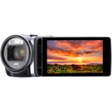 "JVC Everio GZ-GX1BUS Digital Camcorder - 3.5"" - Touchscreen LCD - CMOS - GZGX1BUS"
