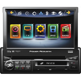 "Power Acoustik Inteq PD-740NB Car DVD Player - 7"" Touchscreen LCD Disp - PD740NB"