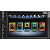 "Power Acoustik Inteq PD-622NB Car DVD Player - 6.2"" Touchscreen LCD Di - PD622NB"