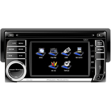 "Power Acoustik PD-450 Car DVD Player - 4.5"" Touchscreen LCD Display - - PD450"