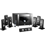 PylePro PT798SBA 7.1 Home Theater System - 500 W RMS - Piano Black