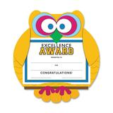 Southworth Motivations Owl Excellence Award Certificate - MAK1