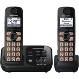 Panasonic KX-TG4732B Cordless Phone - 1.90 GHz - DECT 6.0 - Black - KXTG4732B