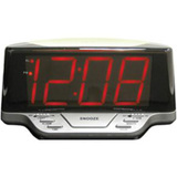 Geneva Clock 1.8&quot; LED Alarm with Night Light