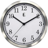 Geneva Clock 8&quot; Metal Wall Clock