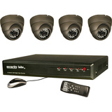 Security Labs 4 Channel 3G/4G H.264 Internet DVR w/ Camera Kit SLM441 - SLM441