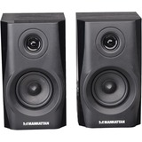 Manhattan 2.0 Speaker System - 4.4 W RMS - Wireless Speaker(s) - Black - 161688