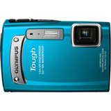 Olympus Tough TG-320 14 Megapixel Compact Camera - Blue V104080UU000