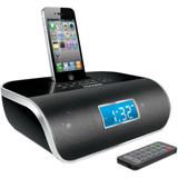 i.Sound Desktop Clock Radio - Apple Dock Interface - Proprietary Inter - ISOUND1669
