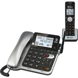 AT&T CL84102 DECT 6.0 Cordless Phone - Silver CL84102