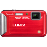 Panasonic Lumix DMC-TS20 16.1 Megapixel Compact Camera - Red - DMCTS20R