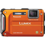 DMC-TS4D - Panasonic Lumix DMC-TS4 12.1 Megapixel Compact Camera - Orange