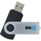 EDGE DiskGO Secure C2 32 GB USB 2.0 Flash Drive - EDGDM231071PE