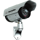 SecurityMan Solar Power Outdoor/Indoor Dummy Camera with LED - SM3803
