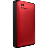 WD My Passport Essential WDBKXH5000ARD 500 GB External Hard Drive - 1 Pack - Retail - Red WDBKXH5000ARD-NESN