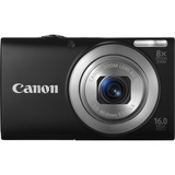 Canon PowerShot A4000 IS 16 Megapixel Compact Camera - Black - 6149B001