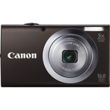 Canon PowerShot A2400 IS 16 Megapixel Compact Camera - Black