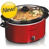 Hamilton Beach 5 Quart Portable Slow Cooker (33155) - 33155