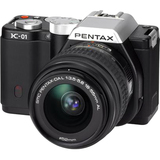 Pentax K-01 16.3 Megapixel Mirrorless Camera (Body with Lens Kit) - 18 mm - 55 mm (Lens 1),