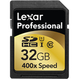 Lexar Media Professional 32 GB Secure Digital High Capacity (SDHC) LSD32GCTBNA400