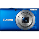Canon PowerShot A4000 IS 16 Megapixel Compact Camera - Blue - 6152B001