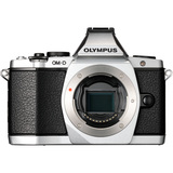 Olympus OM-D E-M5 16.1 Megapixel Mirrorless Camera (Body Only) - Silver V204040SU000
