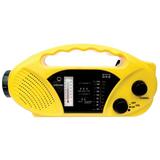 Stansport Hand Crank/Solar Battery Radio/Flashlight
